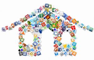 Wiki House Social Media Icons- by Kathleen Donovan
